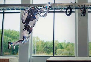 Boston Dynamics Parkour